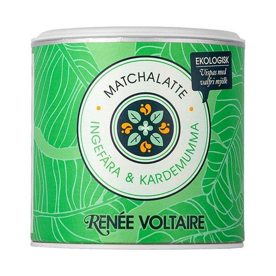 Renee Voltaire Matchalatte Ingefära & Kardemumma, 100 g