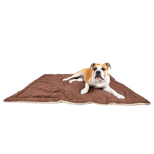 Little&Bigger Cuddly Hundfilt Brun (L)
