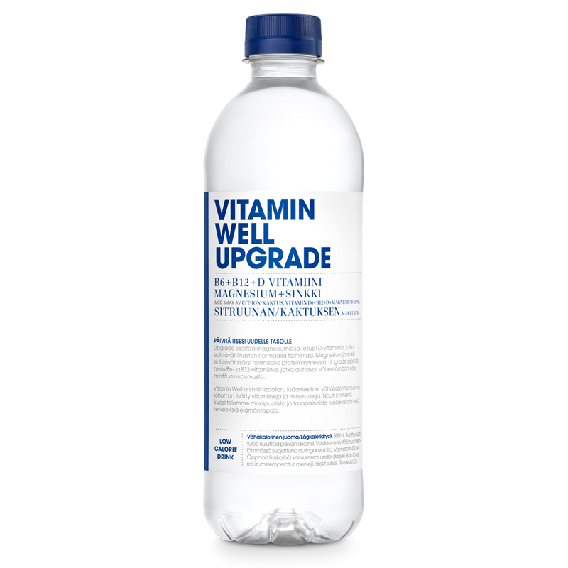 "Dryck ""Upgrade"" Citron & Kaktus 500ml - 50% rabatt"