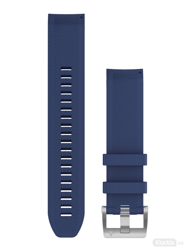 Garmin QuickFit 22mm Klockarmband i marinblått silikon 010-12738-18