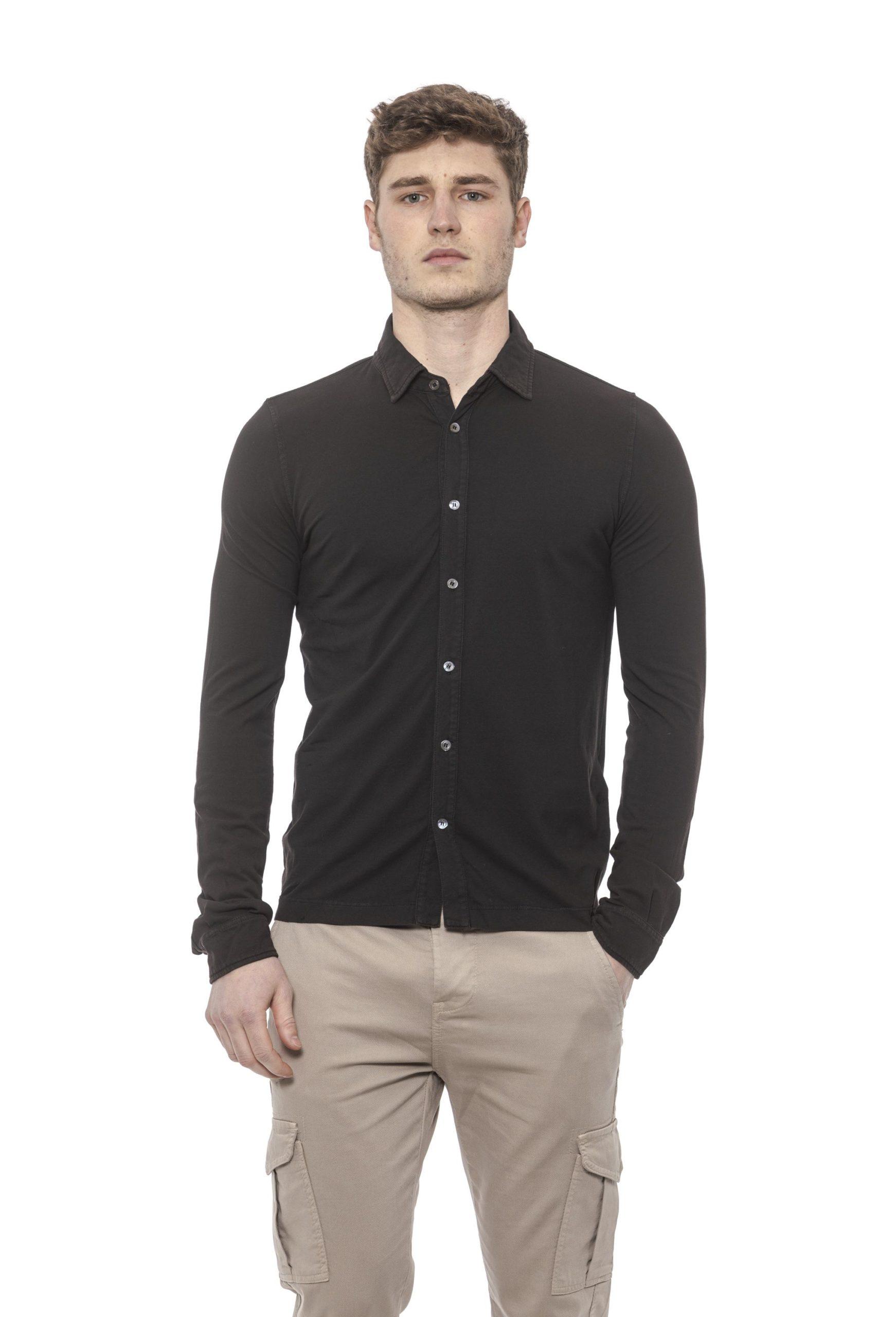 Alpha Studio Men's Shirt Brown AL1394981 - IT48 | M