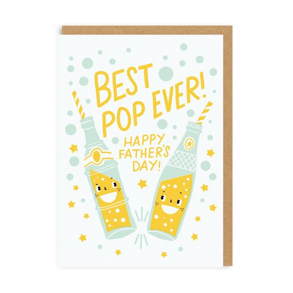 Best Pop Ever Father's Day Greeting Card