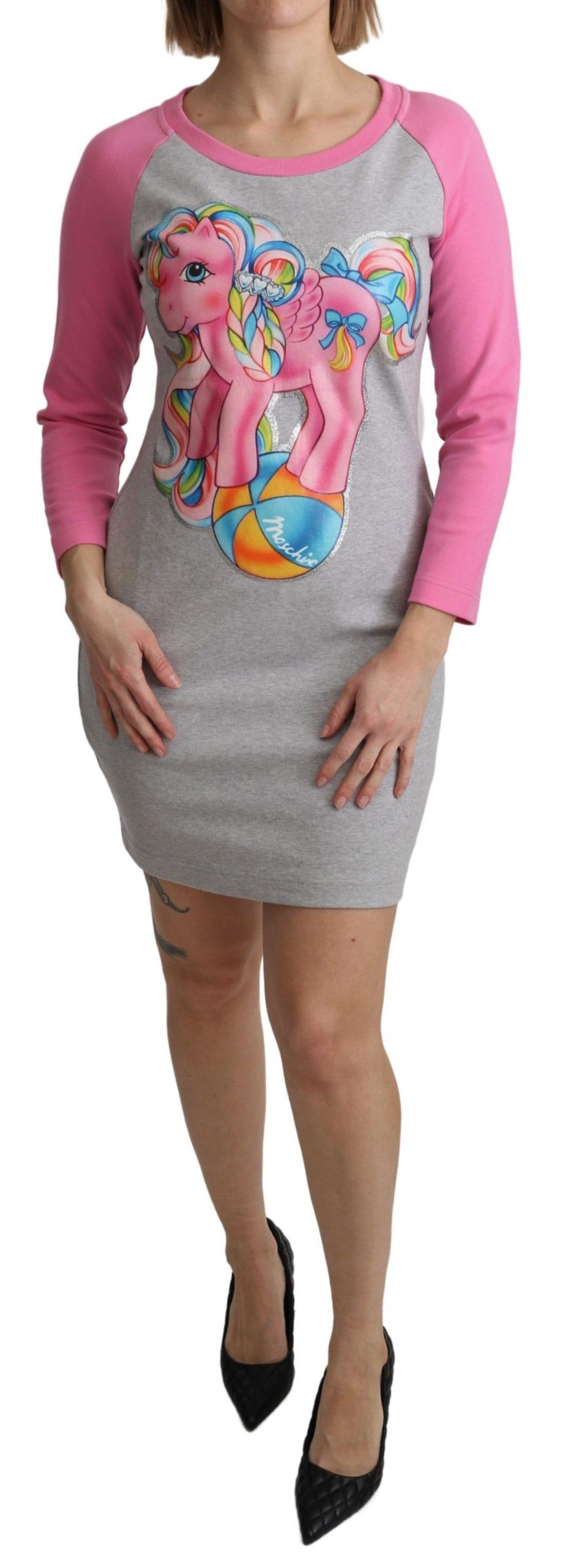 Moschino Women's My Little Pony Top Dress Multicolor TSH5087 - IT36 | XS