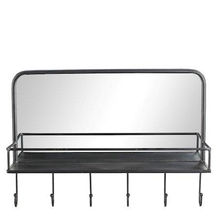 Speil Hildia Svart
