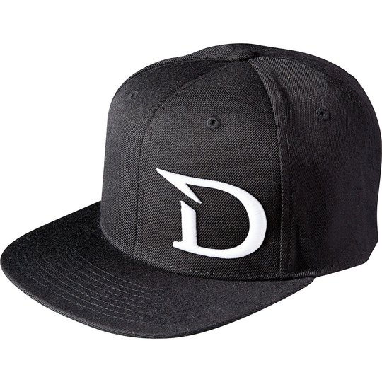 Dragon Snap Back D-logga svart keps