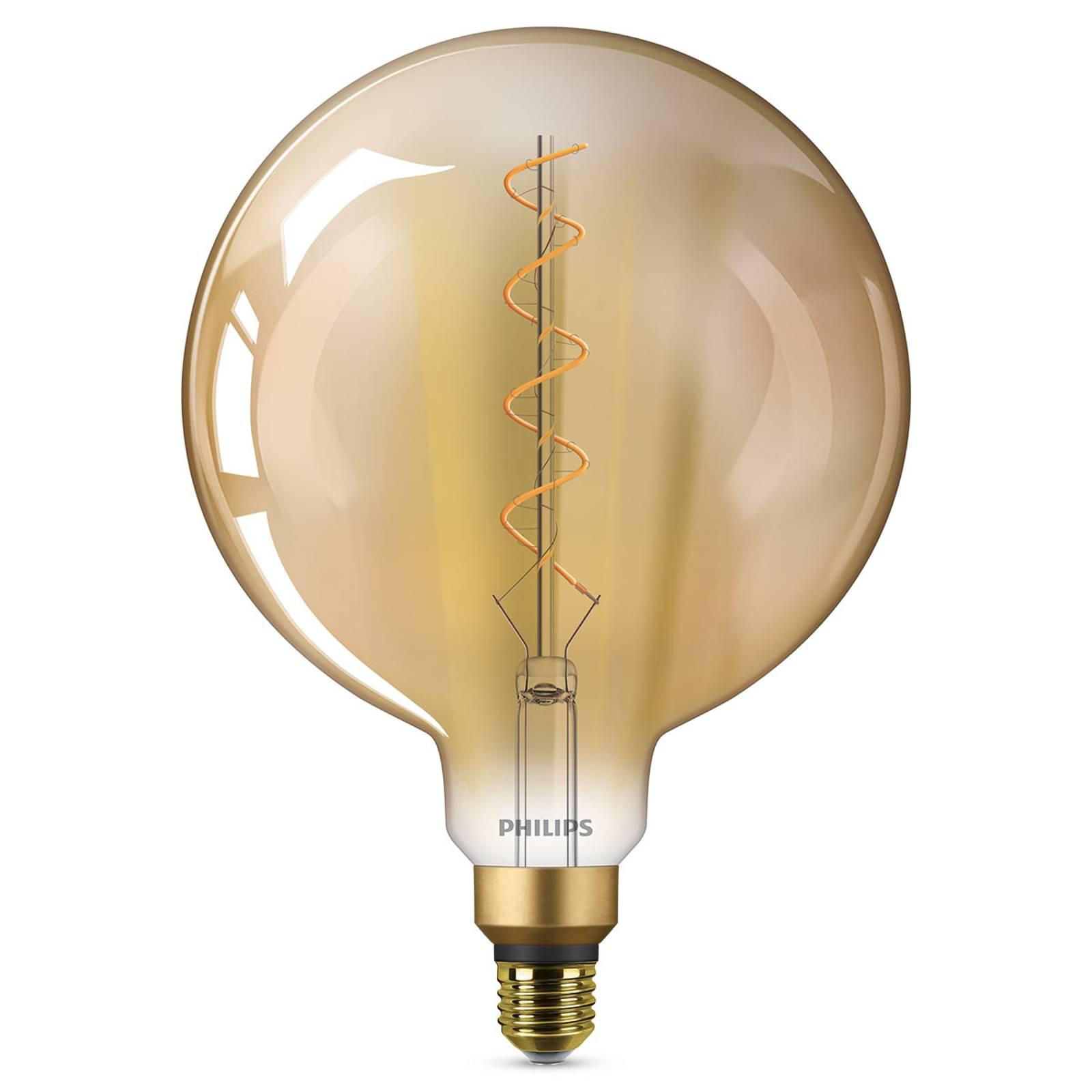 E27 G200 Iso LED-lamppu Classic Giant 2 000K kulta