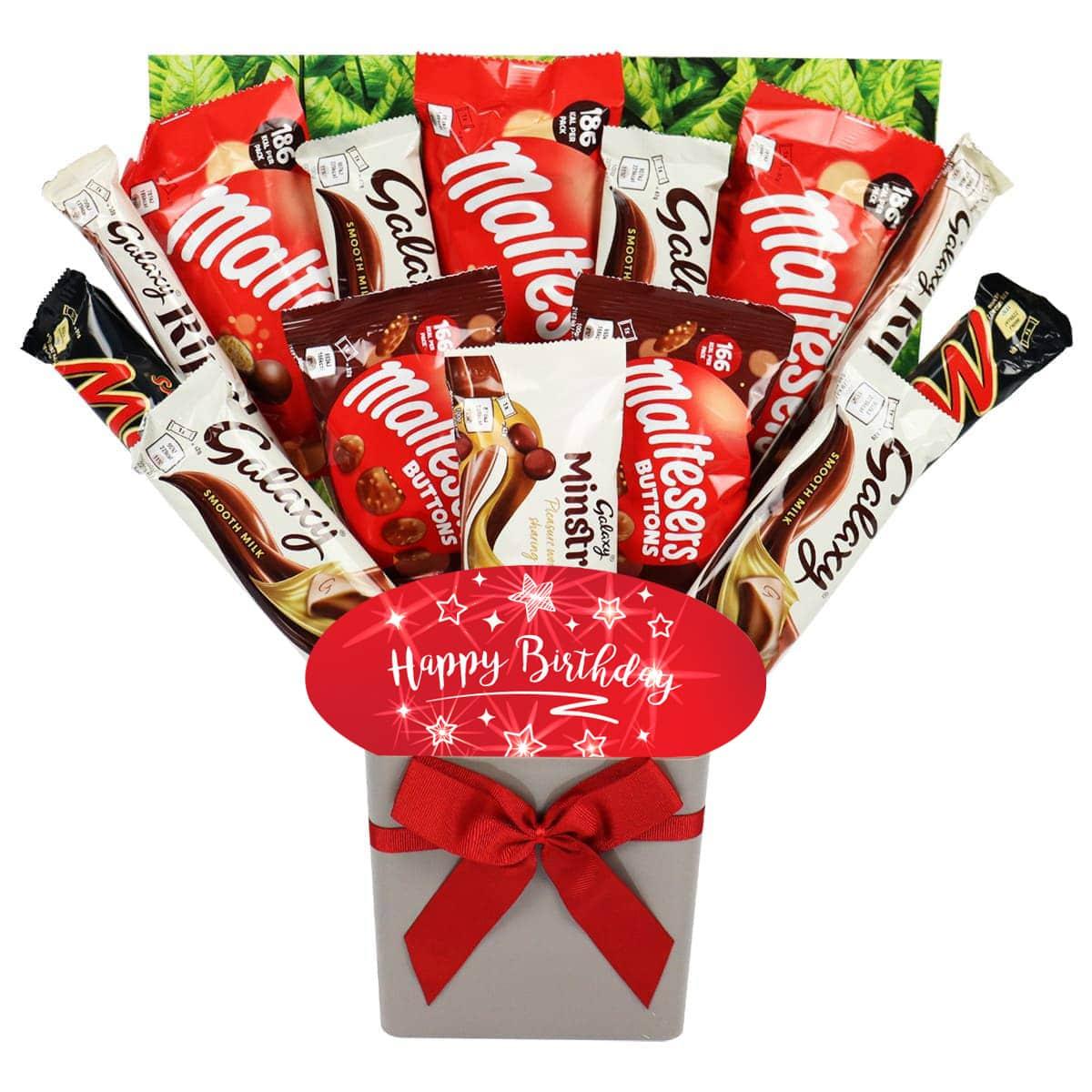The Happy Birthday Galaxy Chocolate Bouquet