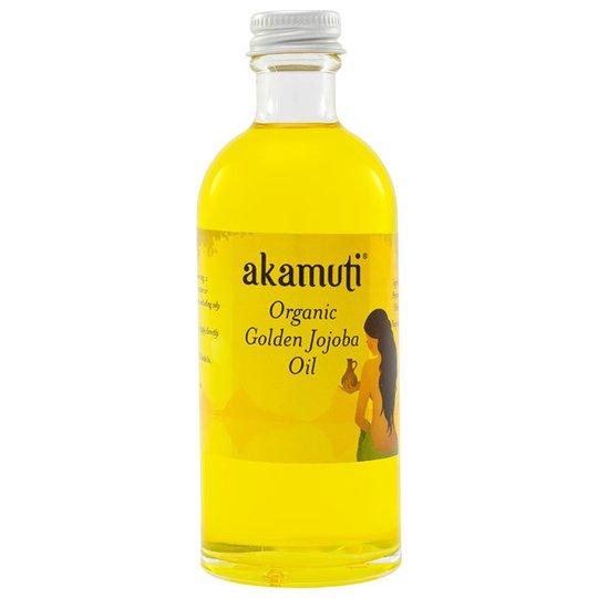 Akamuti Organic Golden Jojoba Oil, 100 ml