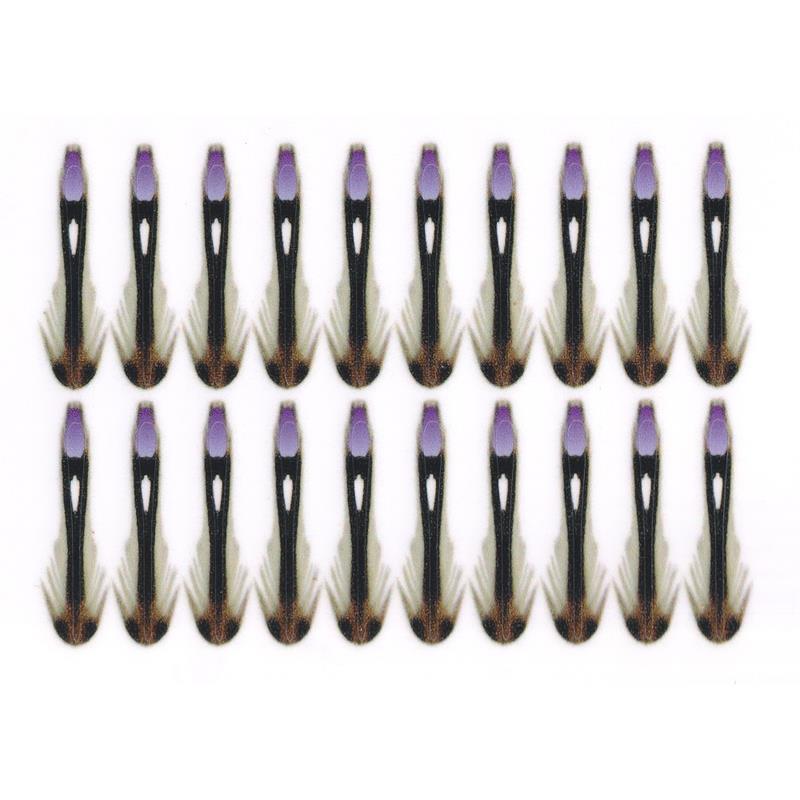 Semperfli Synthetic Jungle Cock 24mm Purple