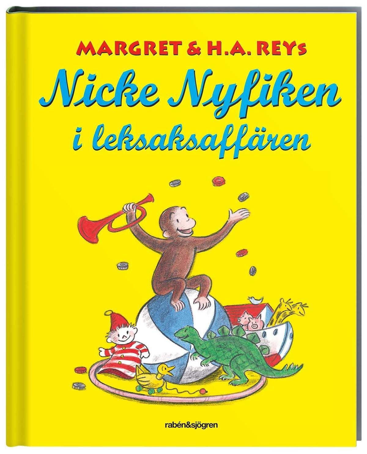 Rabén & Sjögren Nicke Nyfiken I Leksaksaffären