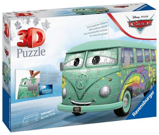 Ravensburger 3D Puslespill Disney Cars Filmore 162 Brikker