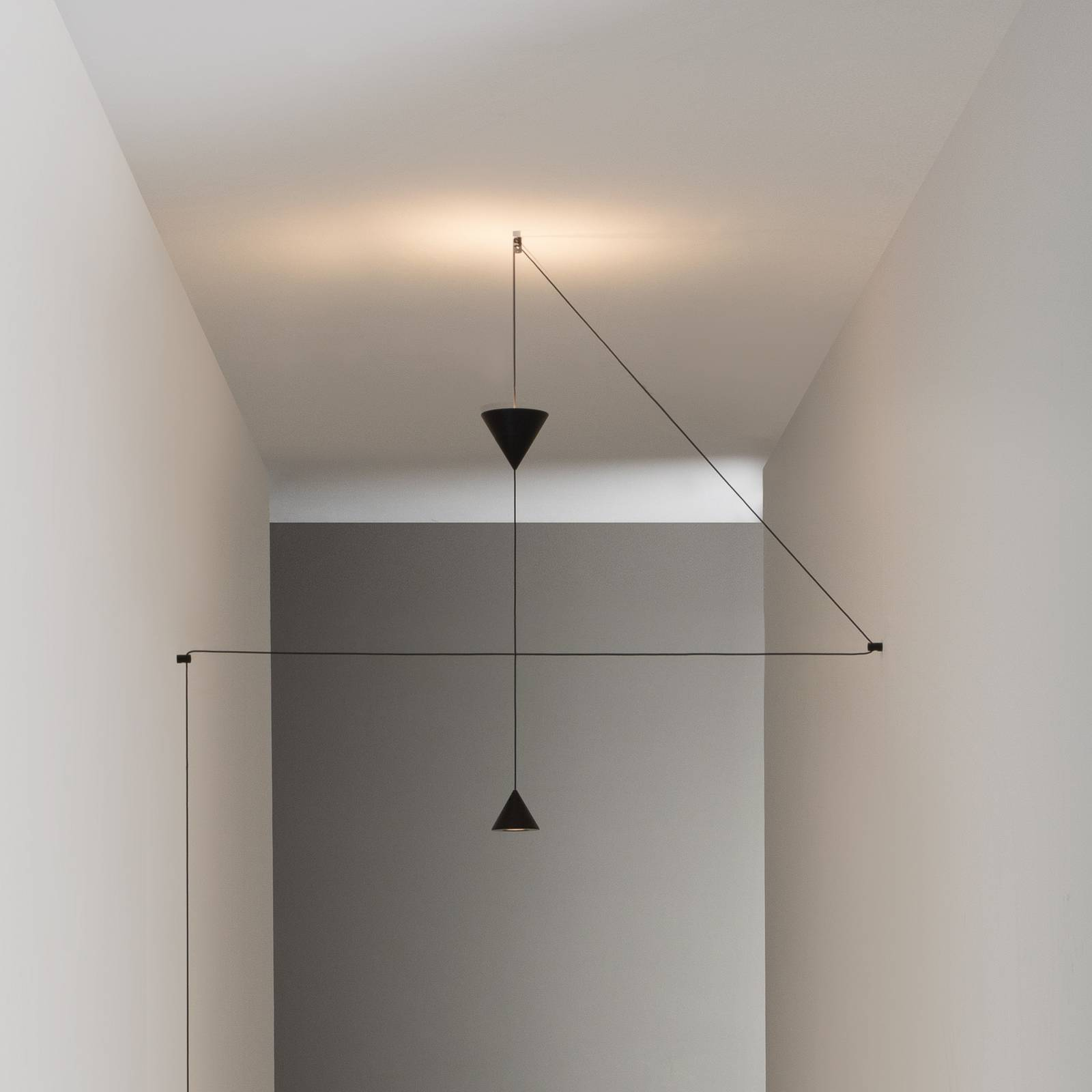 Karman Filomena -LED-lattiavalo 2-lamppuinen 2700K