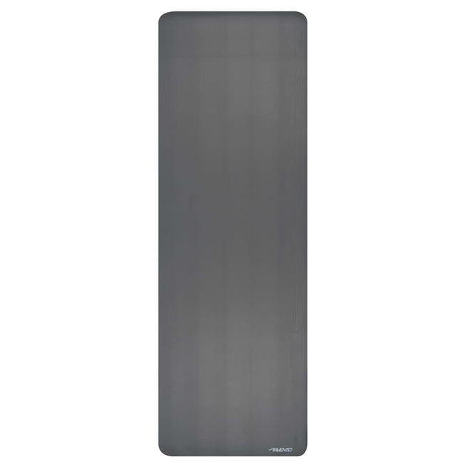 vidaXL Tränings/yogamatta NBR skum grå