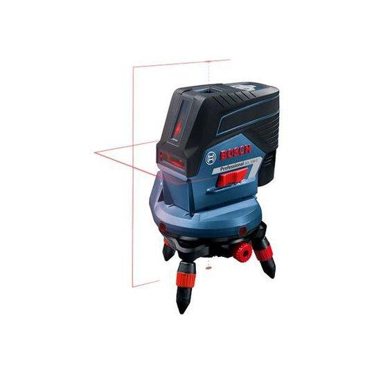 Bosch GCL 2-50 C Ristilaser punainen, sis. L-BOXX-laukun, ilman akkuja ja laturia