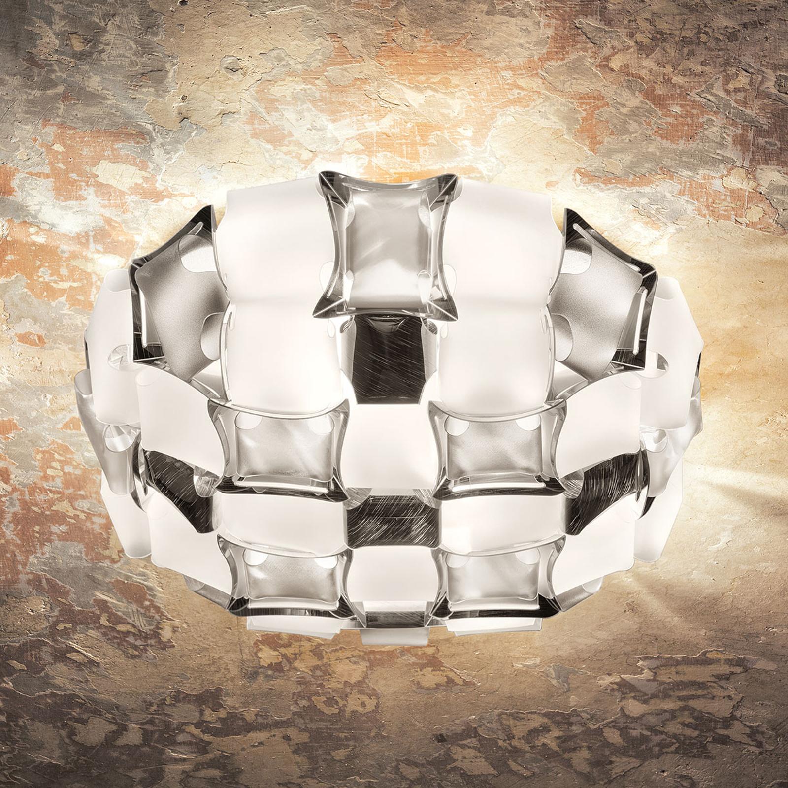 Slamp Mida kattovalaisin, 50 cm, valkoinen-platina