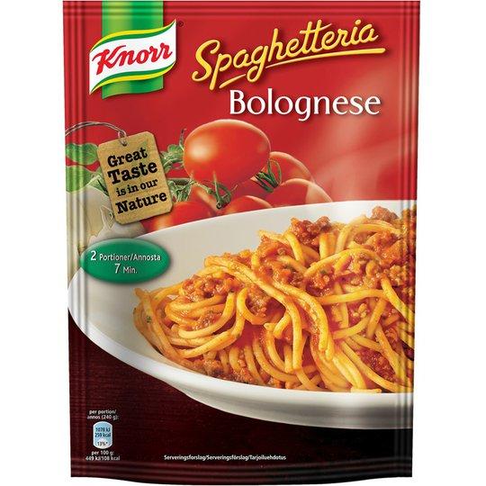 "Ateria-ainekset ""Spaghetteria Bolognese"" 148g - 0% alennus"