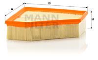 Ilmansuodatin MANN-FILTER C 23 109