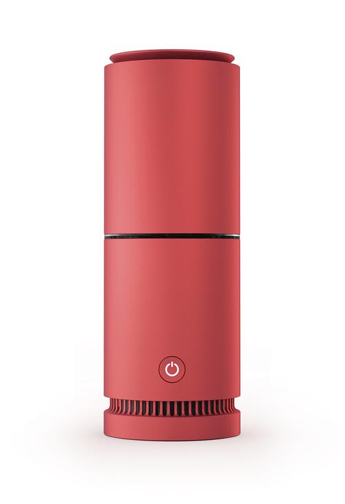 V-breathe Tasman Air Purifier Red Luftrenare - Röd