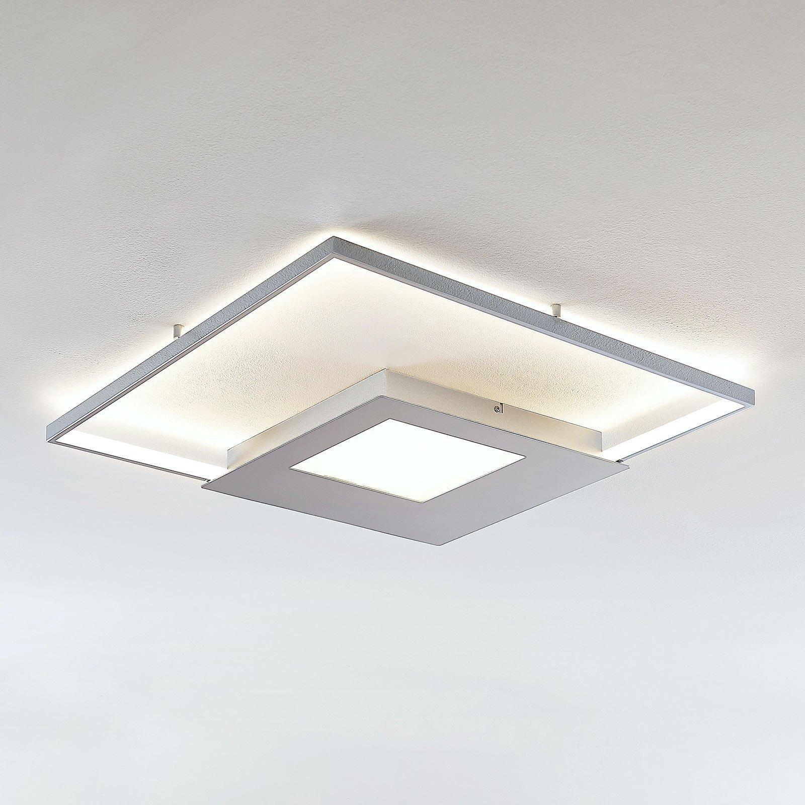 LED-taklampe Anays, kantet 62 cm