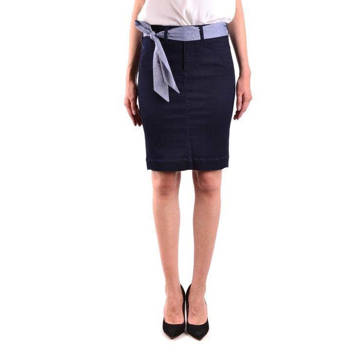 Jacob Cohen Women's Skirt Blue 162617 - blue 27