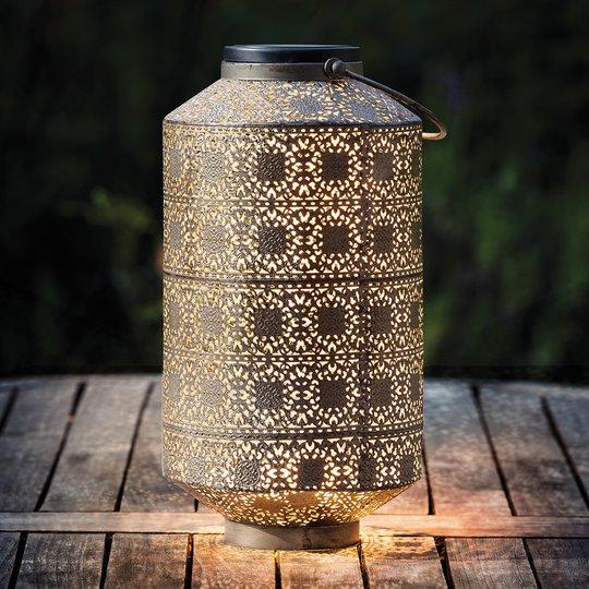 Aurinkokäyttöinen LED-koristevalaisin Orient 30 cm