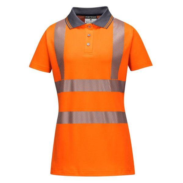 Portwest LW72 Pikétröja Hi-Vis orange XS
