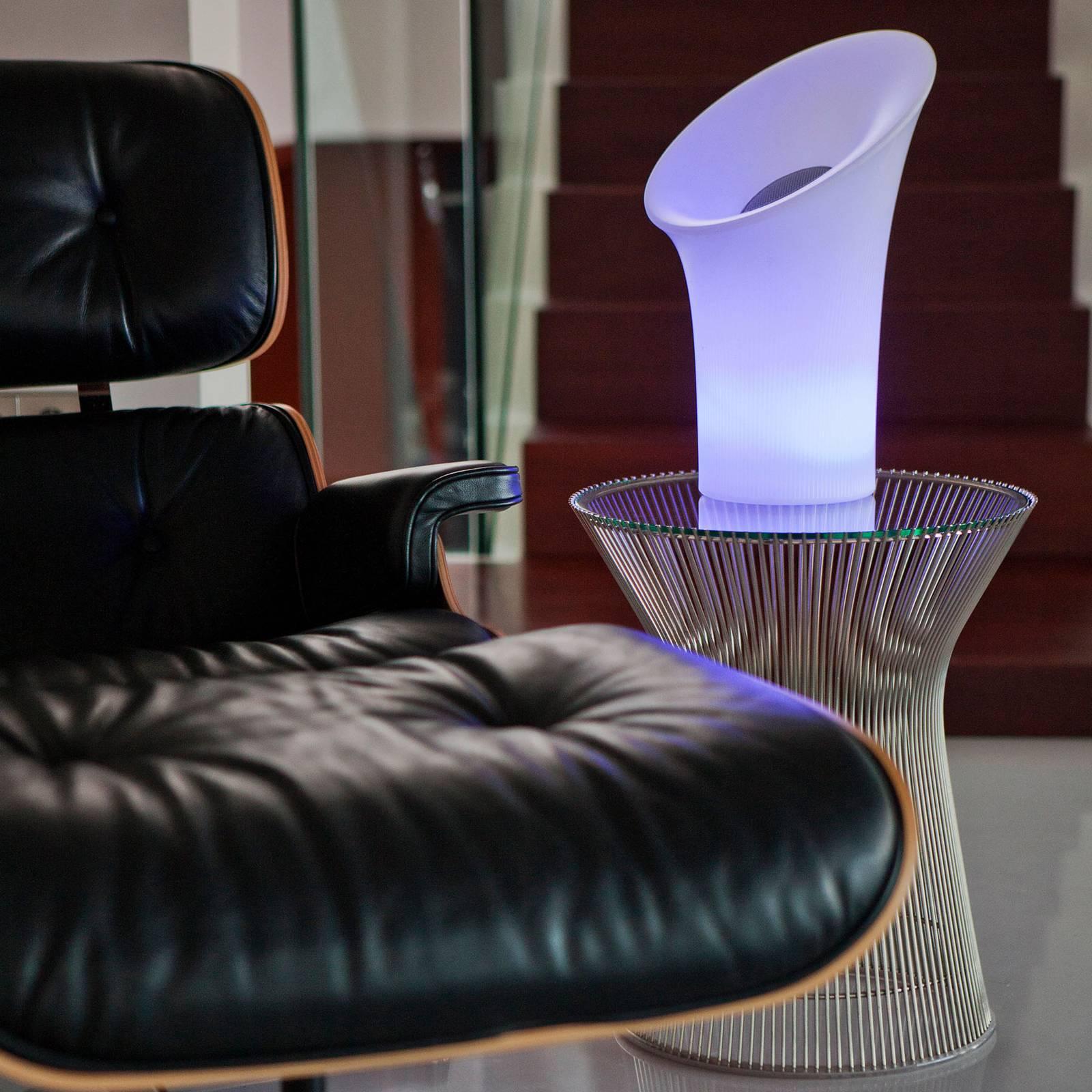 Newgarden Nipper -LED-lamppu kaiuttimella