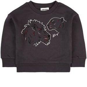 Kenzo Lion Sweatshirt Svart 2 år