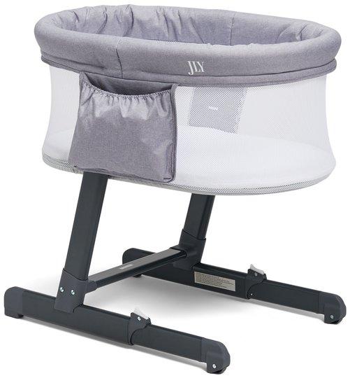 JLY Future Bedside Crib, Grå