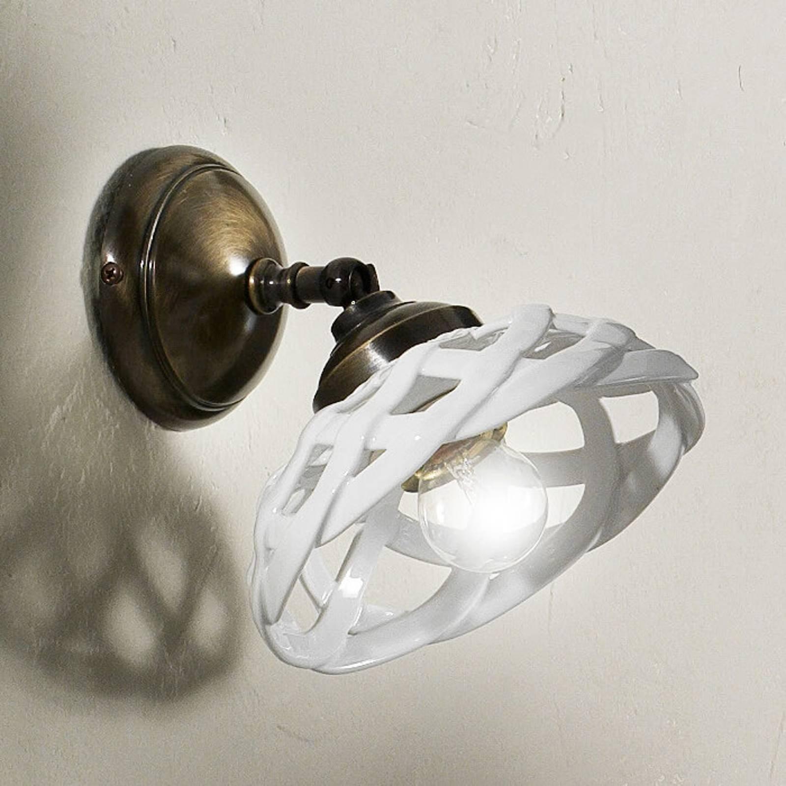 Vegglampe Emanuel keramikk