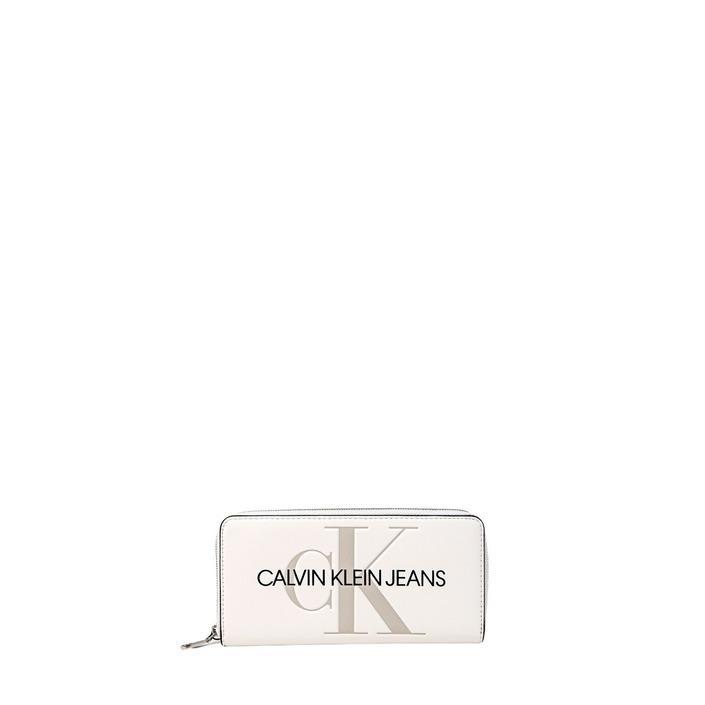 Calvin Klein Jeans Women's Wallet White 319246 - white UNICA