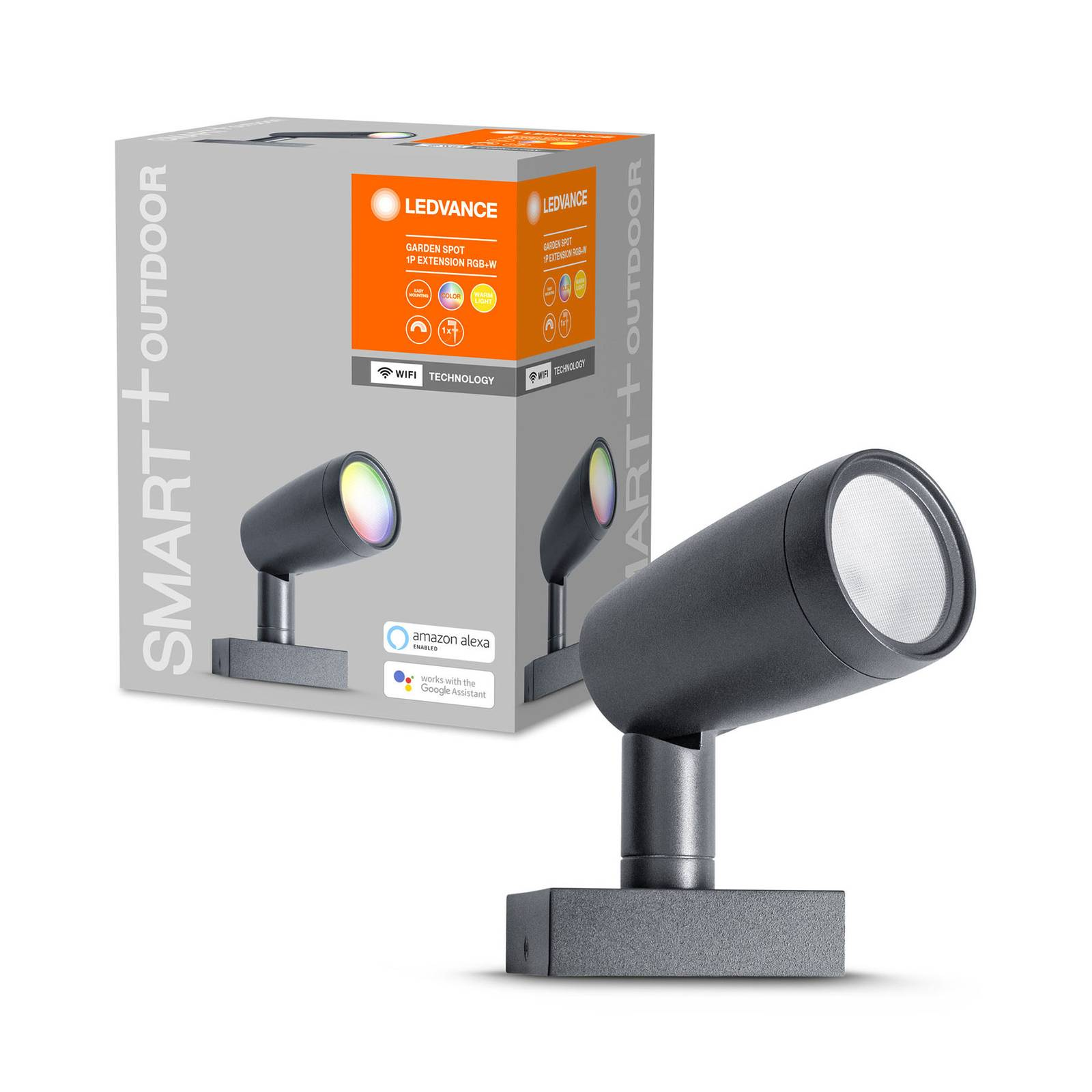LEDVANCE SMART+WiFi Garden-spotti 1 kpl, laajennus