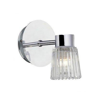 Eze Vegglampe 1 Lys Krom IP44
