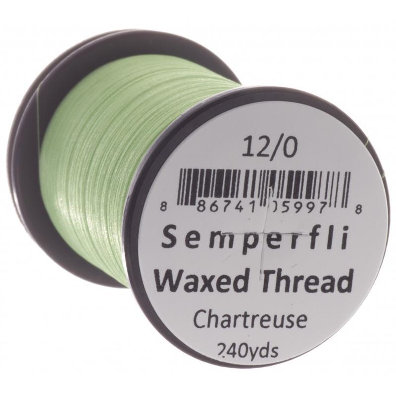 Semperfli Classic Waxed Thread Chartreuse 12/0