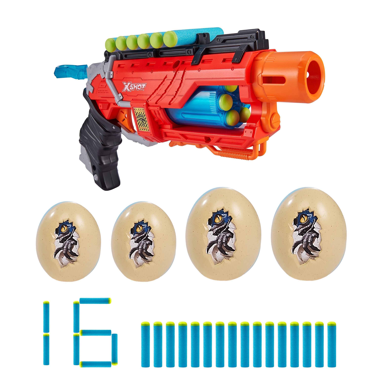 X-Shot - Dino Attack Dino Striker Foam Dart Blaster (20152)