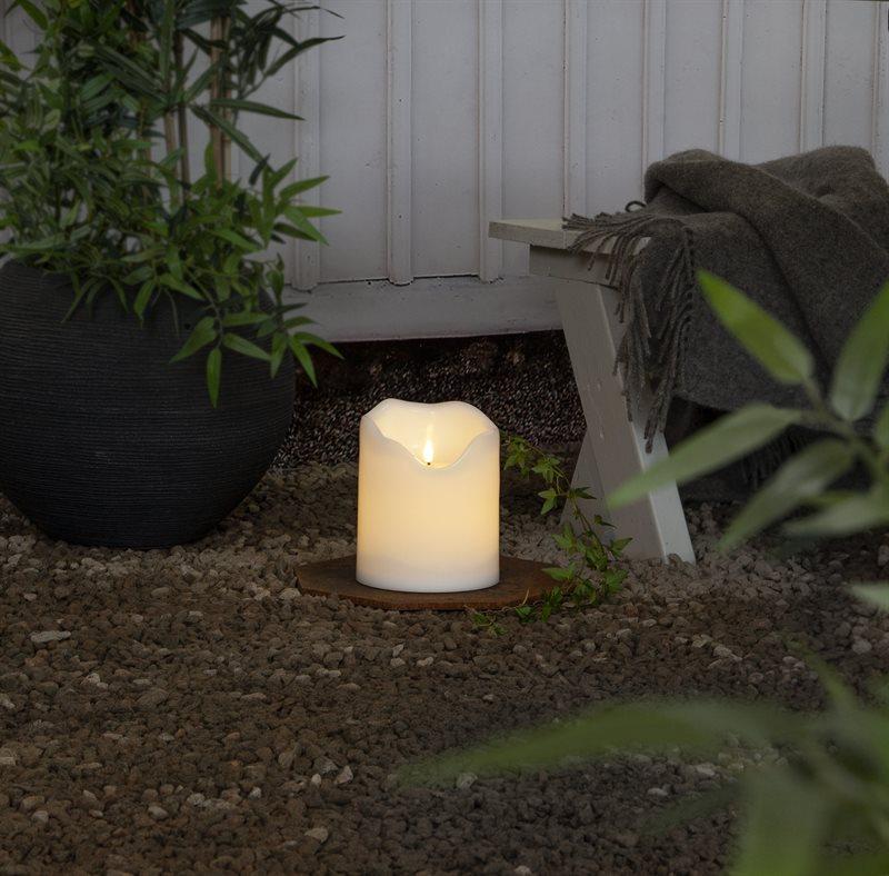 LED-pöytäkynttilä 20 cm Flamme