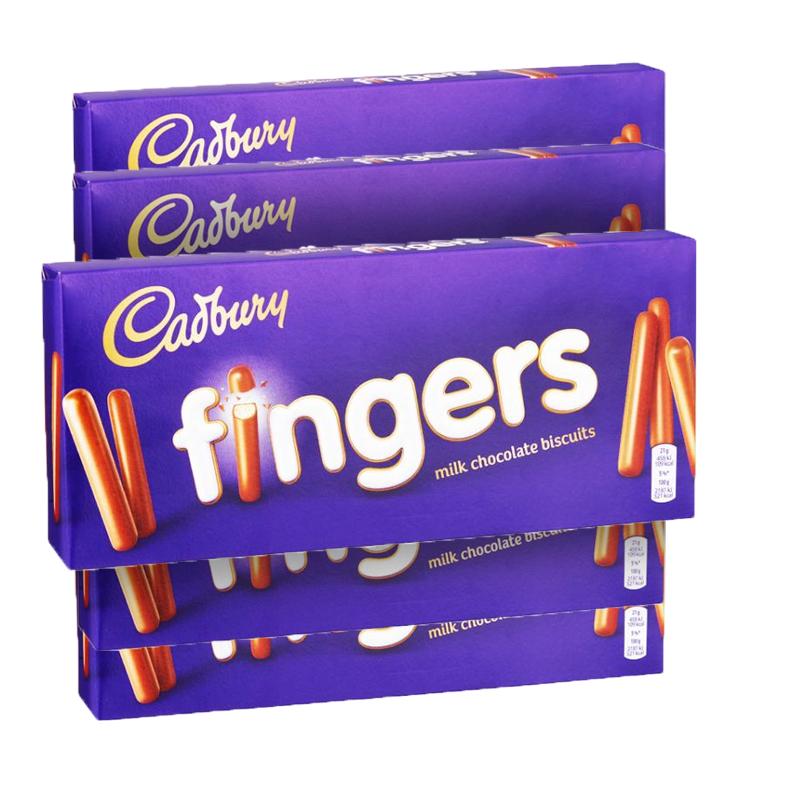 Cadbury fingers 5-pack - 61% rabatt