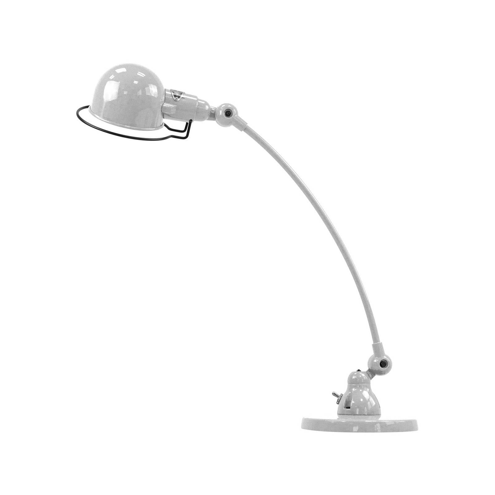 Jieldé Signal SIC400 -pöytälamppu, jalka, harmaa