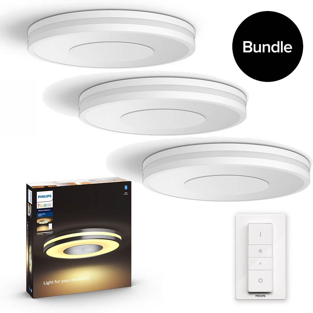 Philips Hue - Being Ceiling Light White - 3xBundle