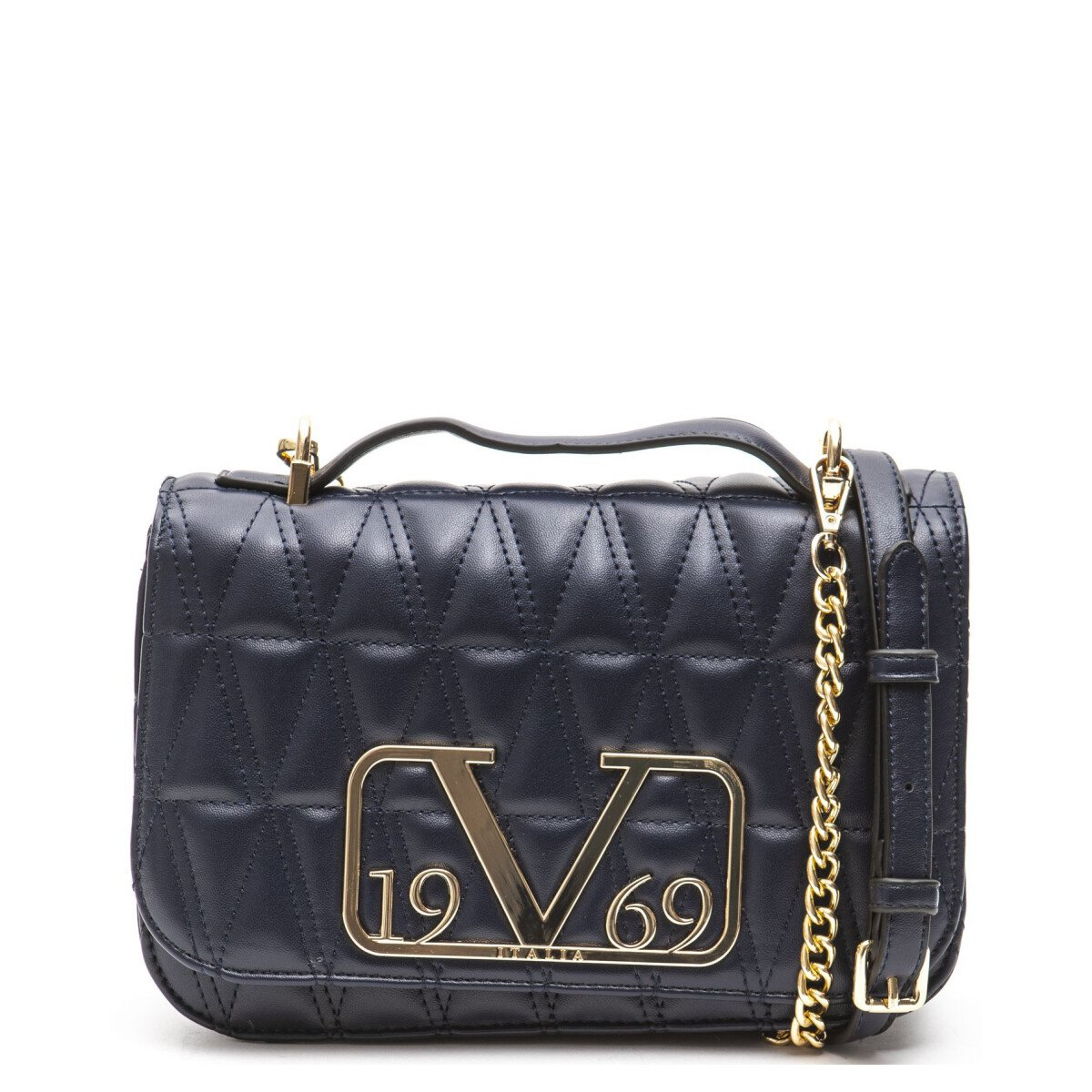 19v69 Italia Women's Shoulder Bag Various Colours 318906 - blue UNICA