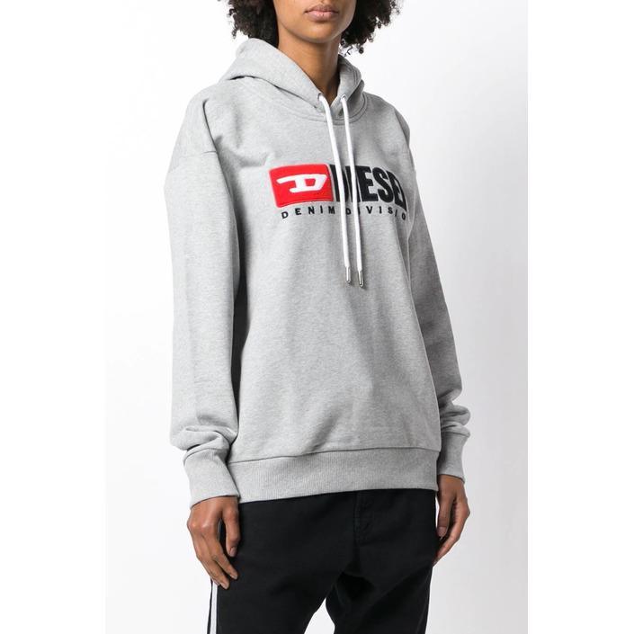 Diesel Women's Sweatshirt Various Colours 297647 - grey 2XS
