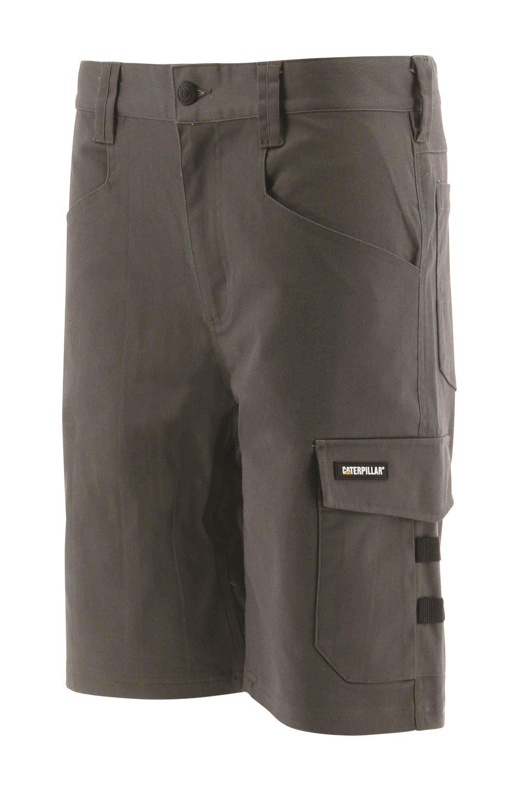 "Caterpillar Unisex Tracker Shorts Black 32224 - Dark Shadow 30"""