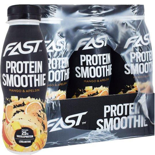 Proteinsmoothie Mango & Apelsin 12-pack - 86% rabatt
