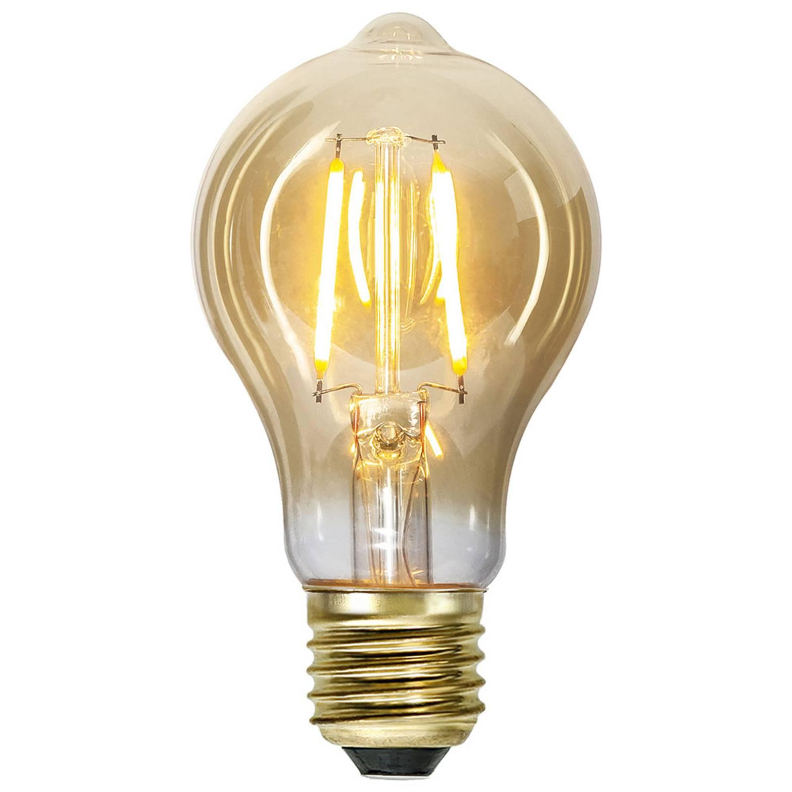 LED-lamppu E27 0,75W Vintage Gold 2000K amber