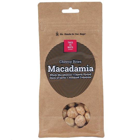 Macadamianötter Cheesy Bites - 41% rabatt