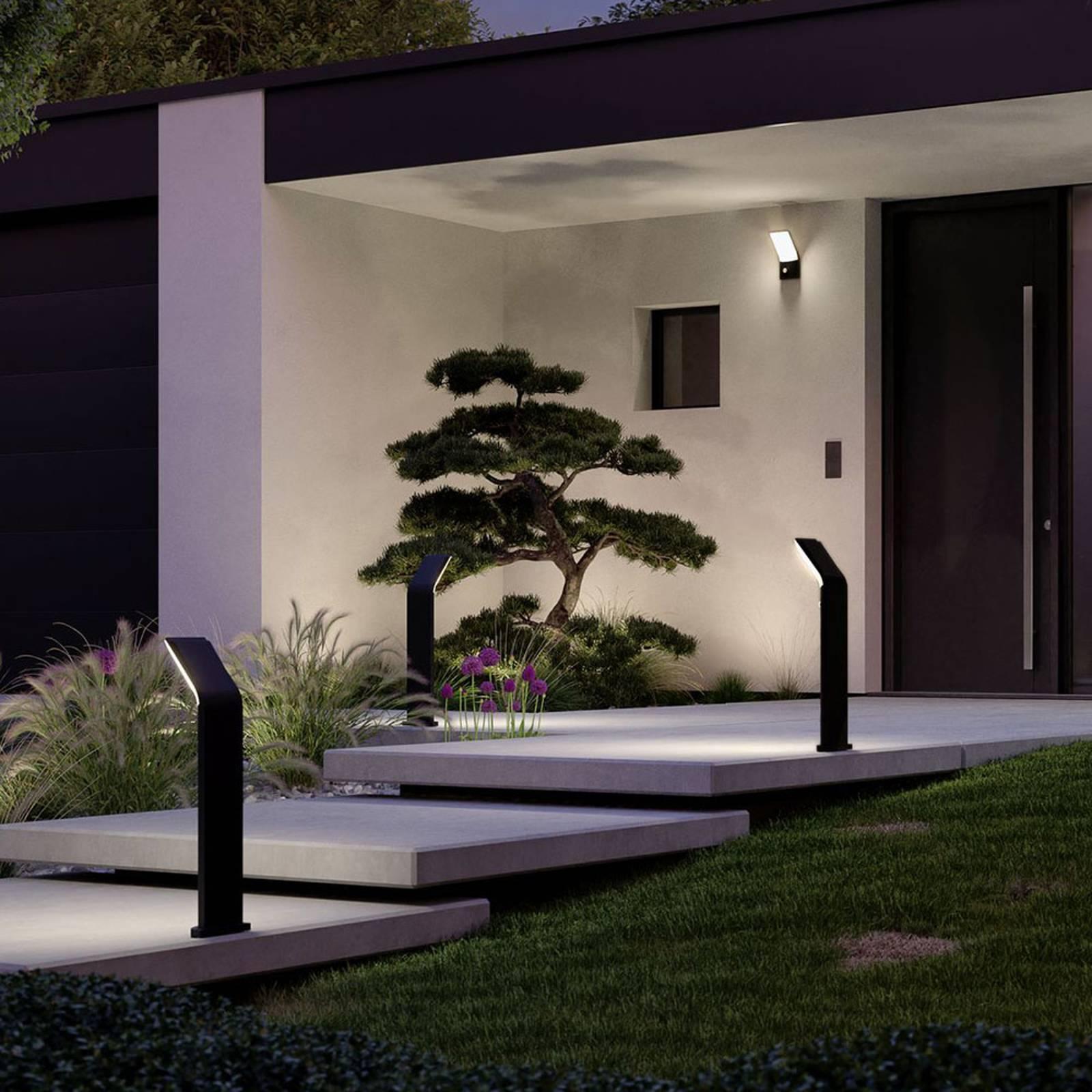 Paulmann Adya -LED-pylväsvalo anturilla