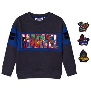 Fabric Flavours Marvel Superheroes Tröja Marinblå 9-10 years