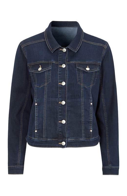 Cellbes Stretchig jeansjacka Blå denim