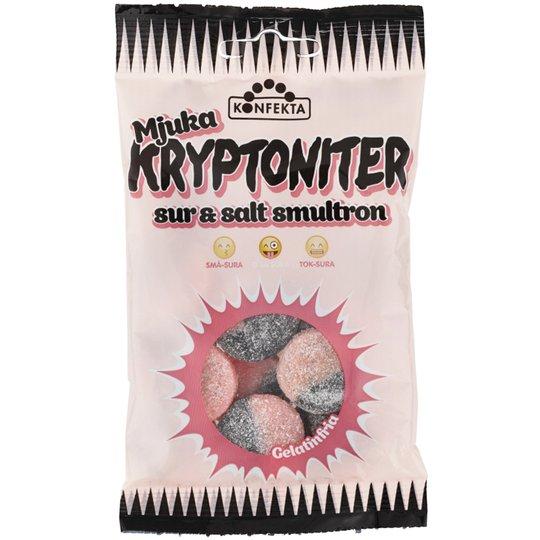 Godis Kryptoniter Smultron 60g - 22% rabatt