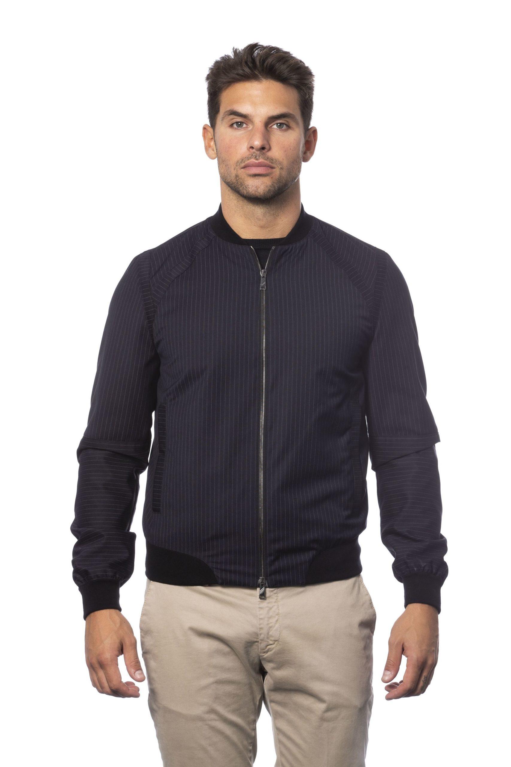 Verri Men's Blu Jacket Blue VE823522 - IT56   XXL